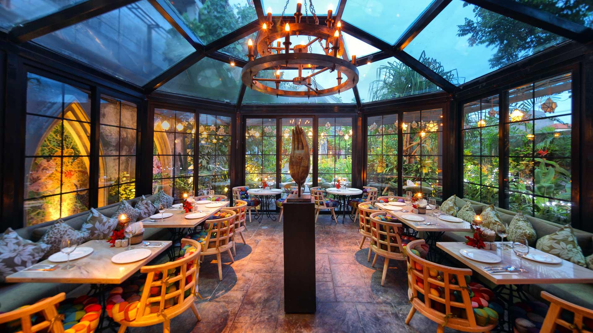 Kafe Gardin Bistro, Tempat Makan Unik dengan Desain ala